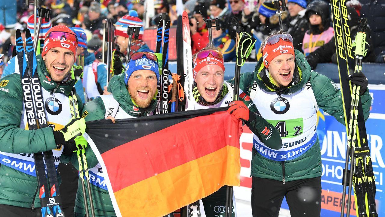 Biathlon Männer Staffel