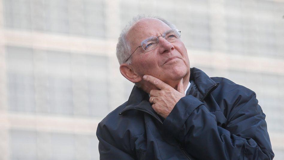 CDU-Politiker Schäuble: Graue Eminenz der Union