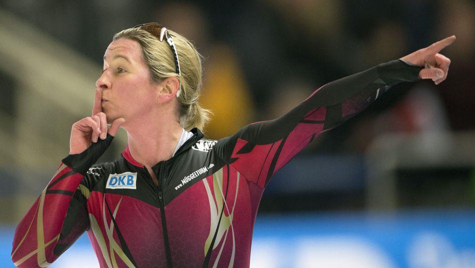 Eisschnelllaufstar Claudia Pechstein