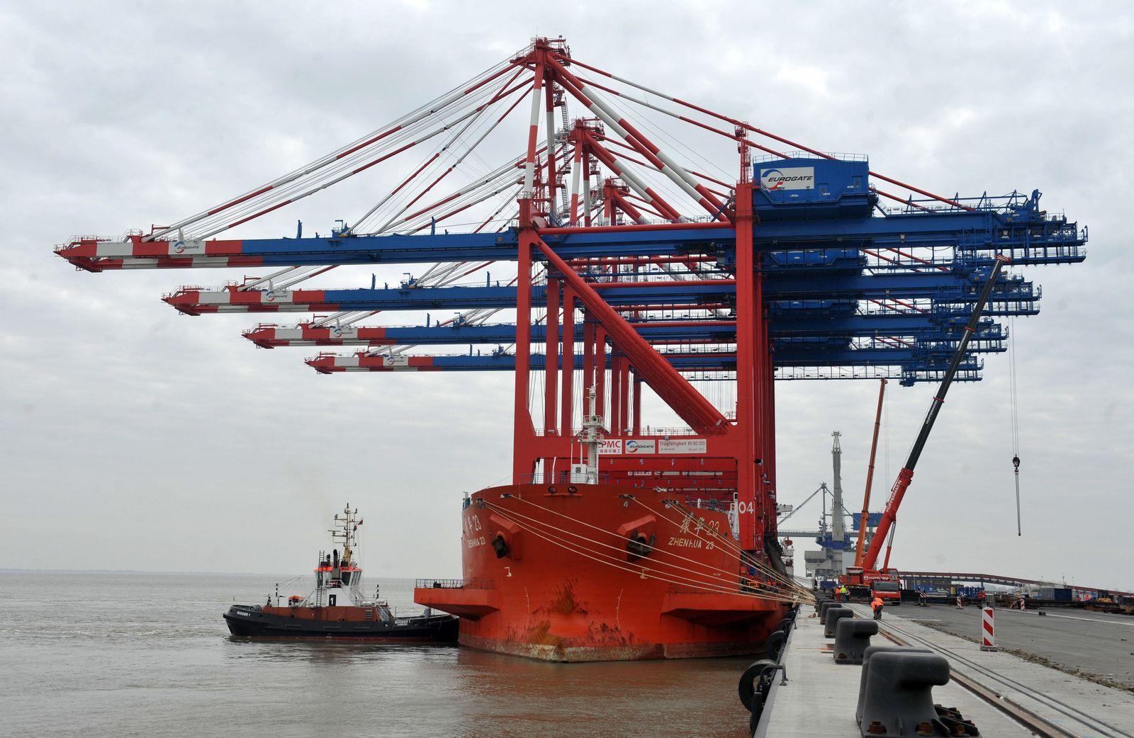 Jade Weser Port/ Wilhelmshaven