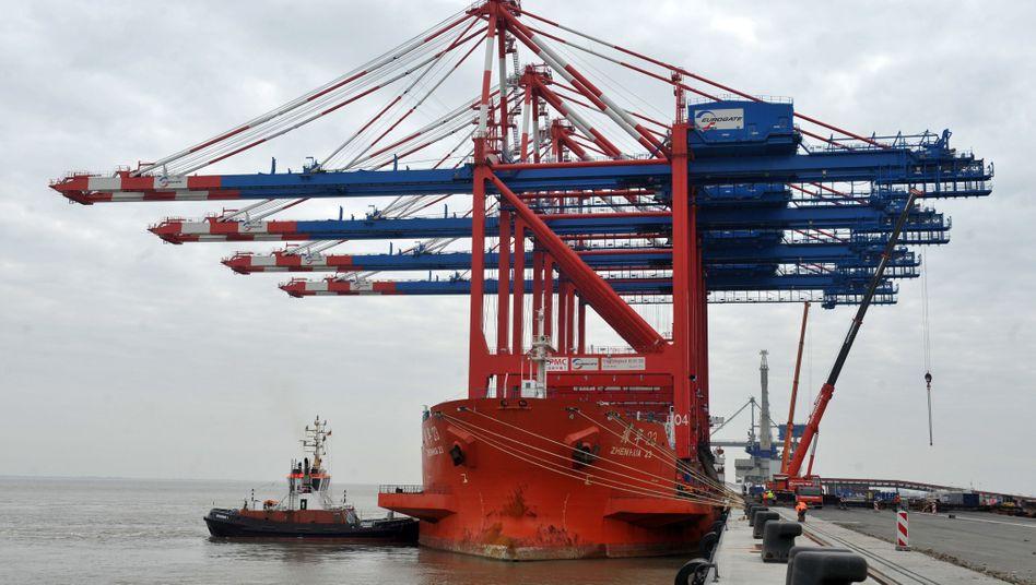 Jade-Weser-Port in Wilhelmshaven