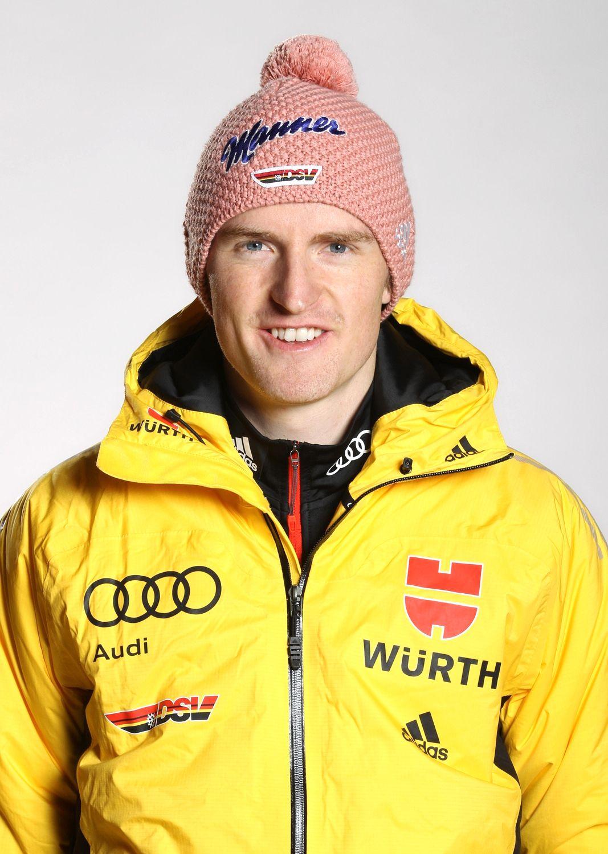 EINMALIGE VERWENDUNG Skispringer/ Severin Freund