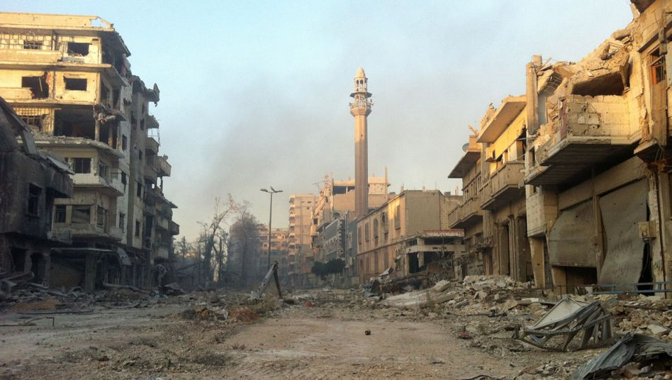 Das Viertel Chaldije in Homs: Vorstoß der Assad-Truppen