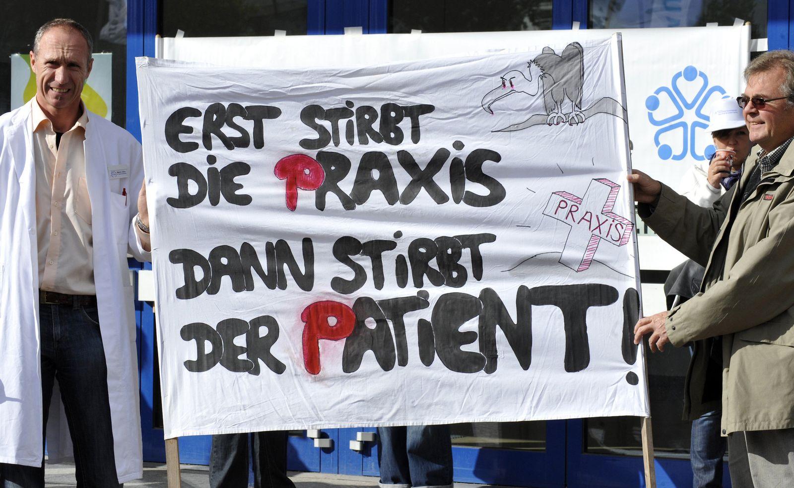 Hausärzte / Protest