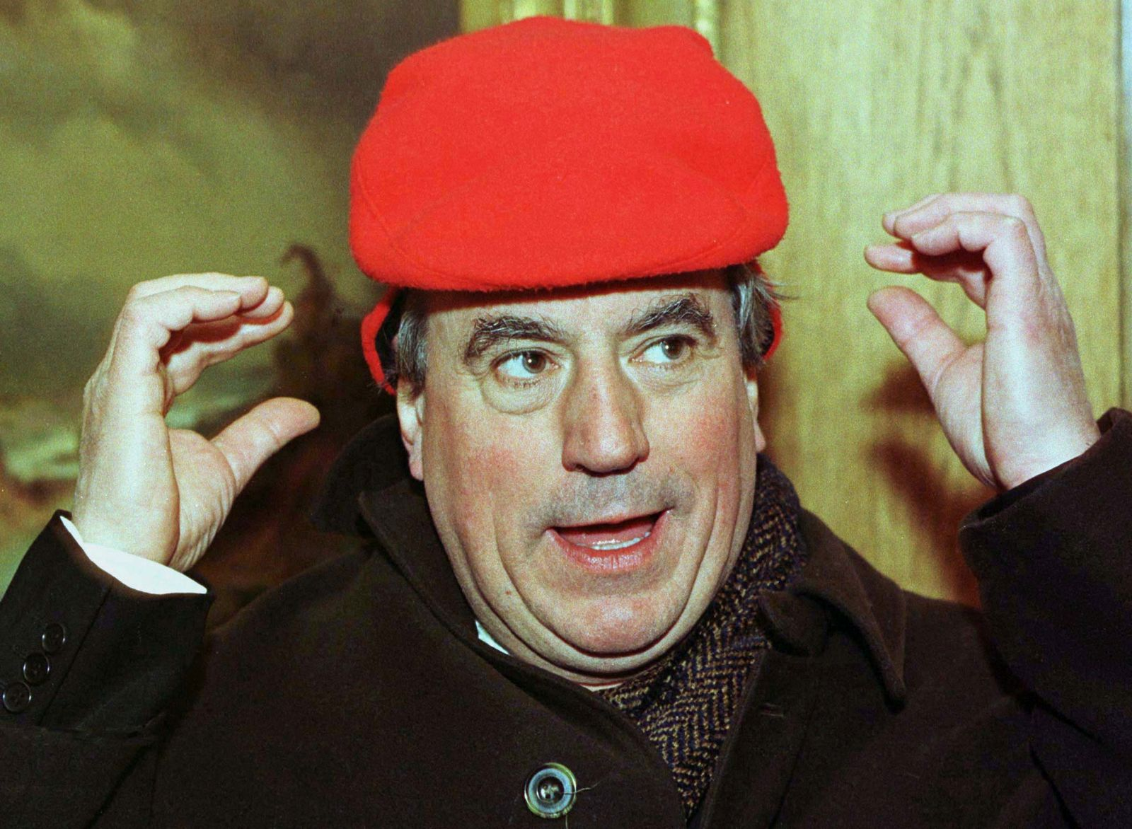 FILE PHOTO: Terry Jones, one of the original Monty Python British comedy troupe members