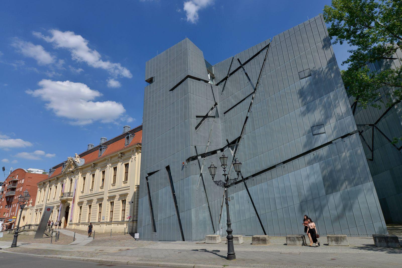 EINMALIGE VERWENDUNG Juedisches Museum Berlin