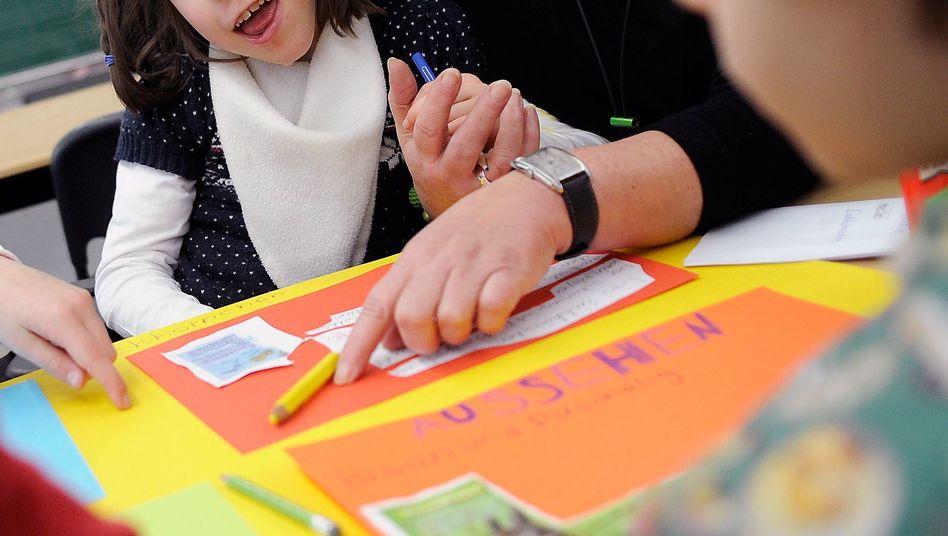 Hier werden alle Kinder gemeinsam unterrichtet: Inklusion klappt aber häufig noch nicht