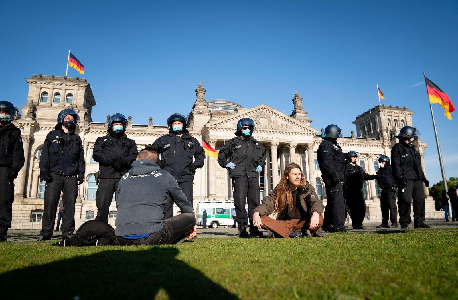 Coronavirus - Berlin Demonstration