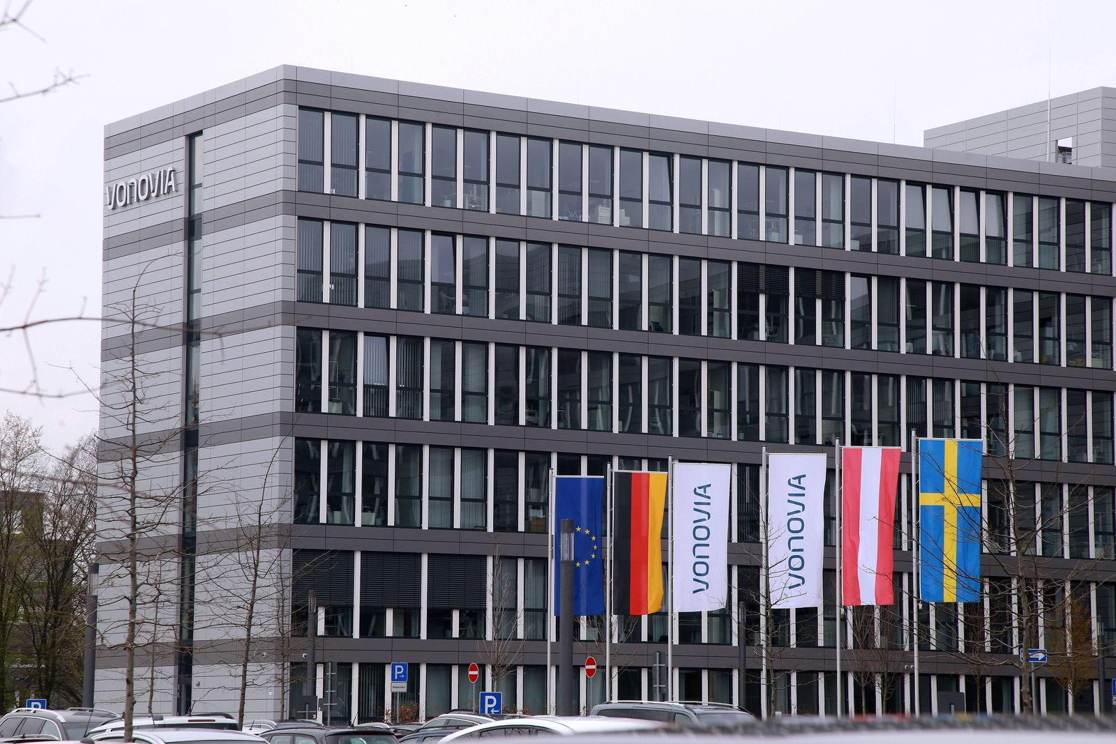 Firmensitz der Vonovia Wohnungsgesellschaft in Bochum. *** Headquarters of Vonovia Wohnungsgesellschaft in Bochum