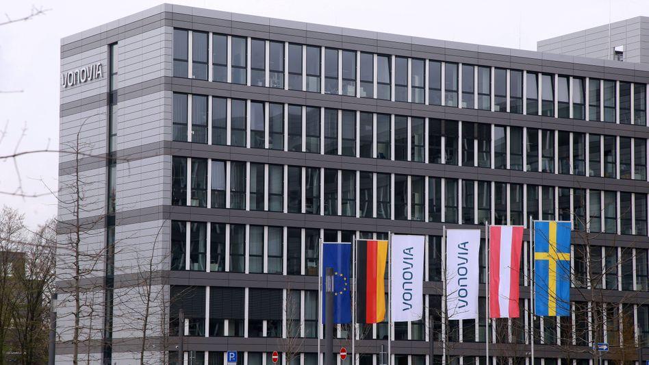 Firmensitz der Wohnungsgesellschaft Vonovia in Bochum