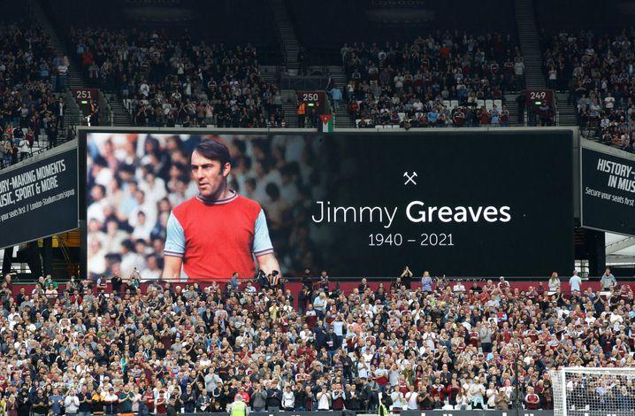 Auch West Ham gedenkt des Torjägers Jimmy Greaves