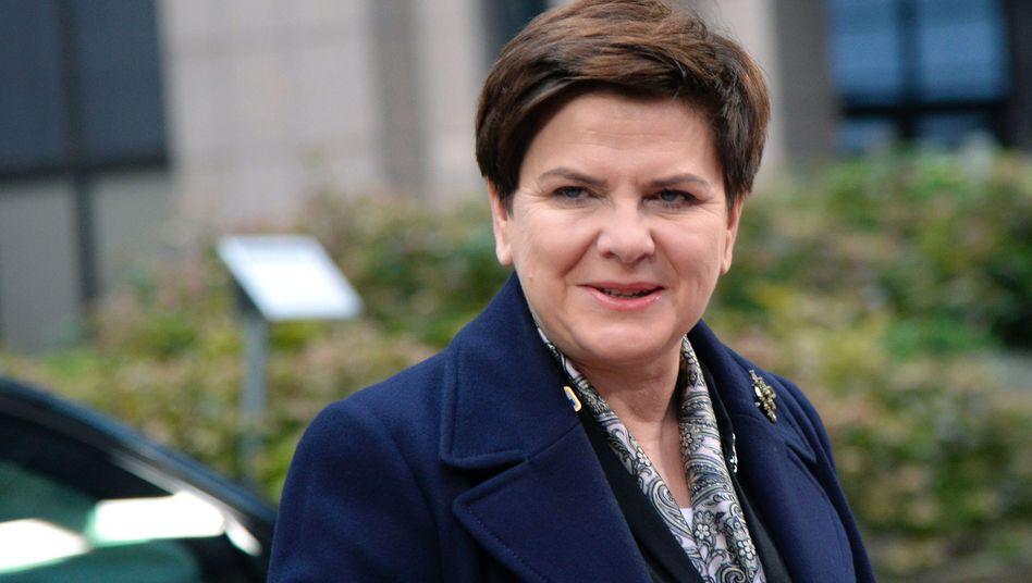 Polens Premierministerin Beata Szydlo
