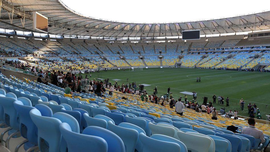 Maracanã-Stadion in Rio: Immer mehr Geld, immer längere Umbauzeit