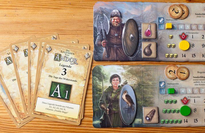 """""""Die Legenden von Andor"""": Abenteuer wie in einem echten Rollenspiel"""