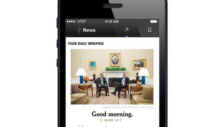 NYT Now: Smartphone-Nachrichten für acht Dollar