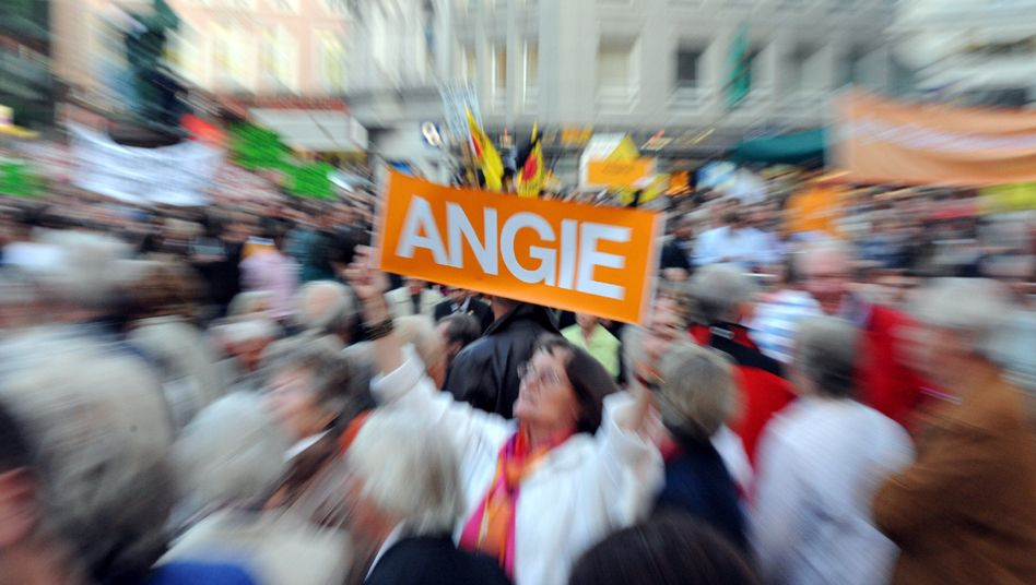 Flashmob in Hamburg: Kreative bis abstruse Massenproteste