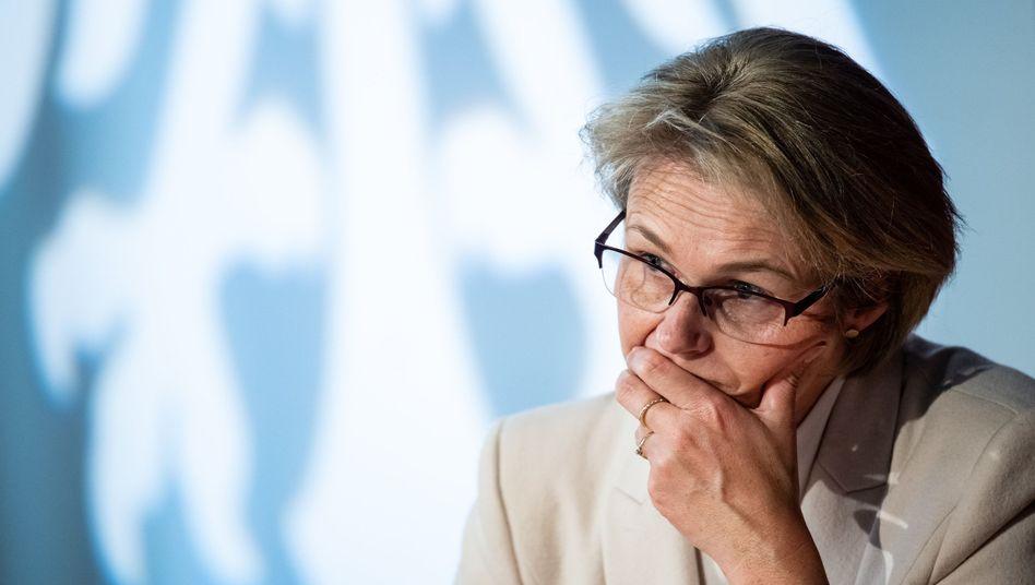 Die Bundesministerin für Bildung und Forschung, Anja Karliczek (CDU)