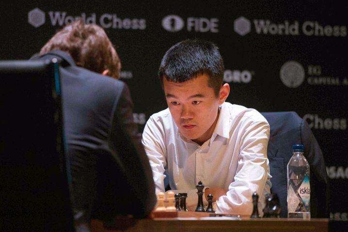 Ding Liren musste vor dem Turnier in Quarantäne