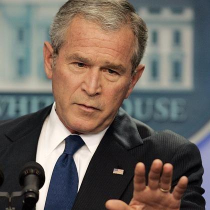 """Bush: """"Rein rhetorisch"""""""