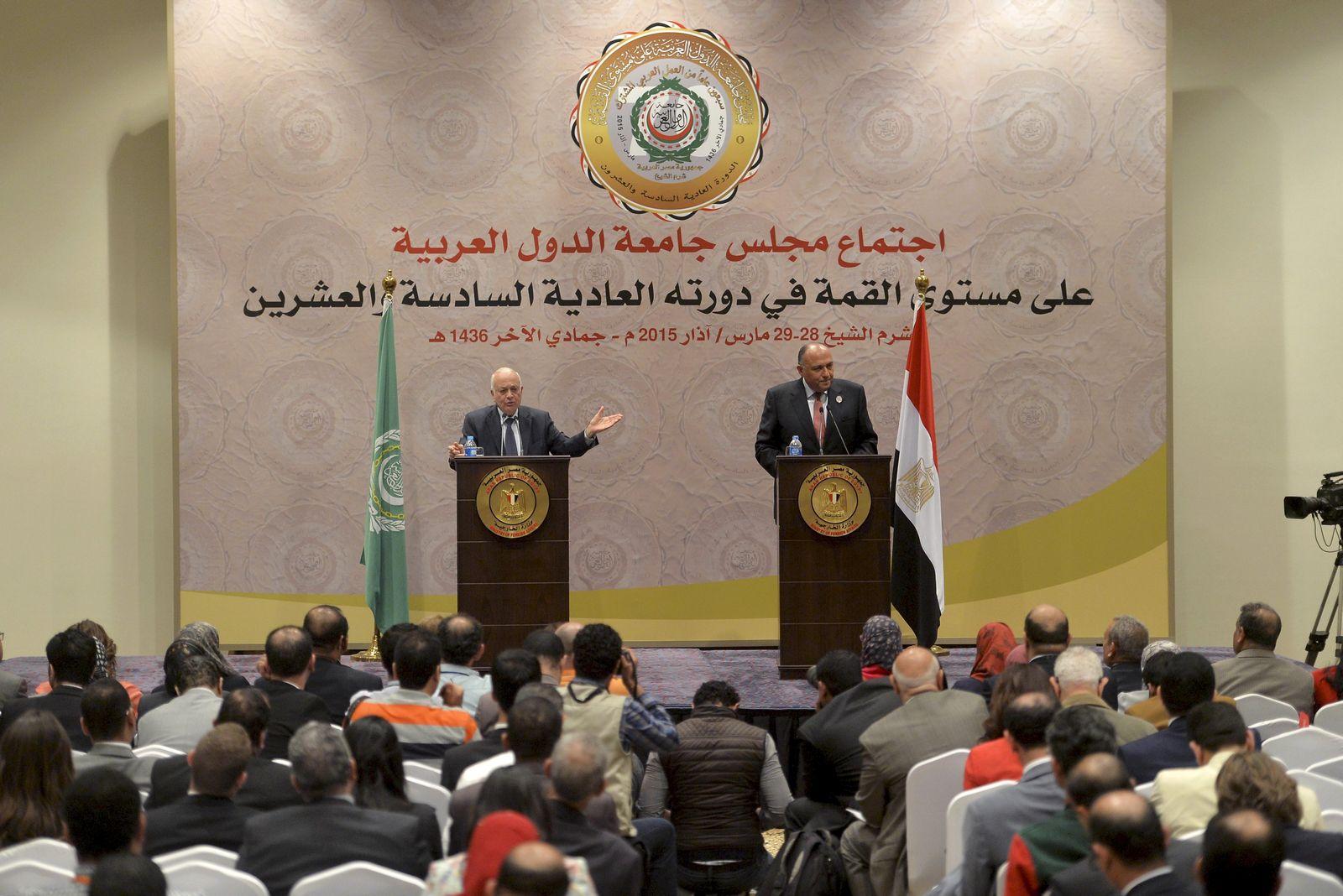 Arabische Liga beschließt Armee