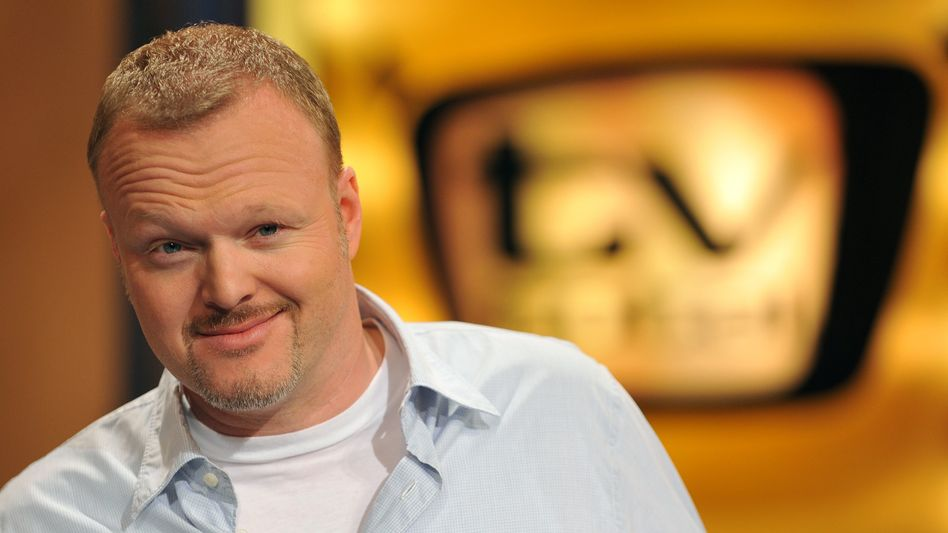 Unterhalter Raab im »TV total«-Studio 2009