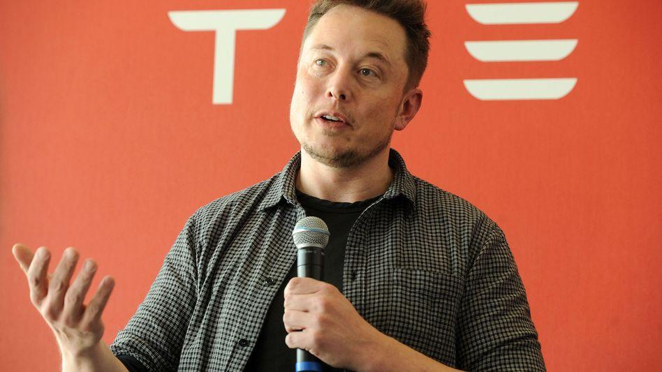 Tesla-Gründer Elon Musk (Archiv)