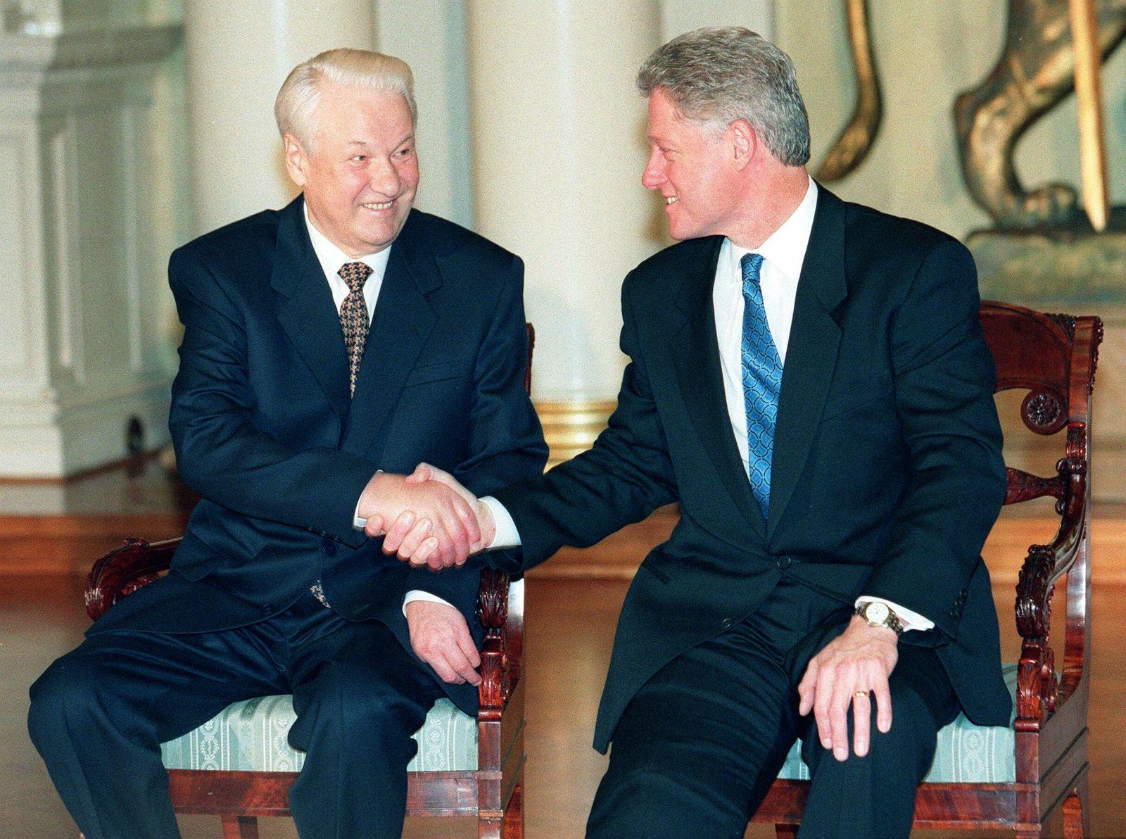 Helsinki Clinton Jelzin
