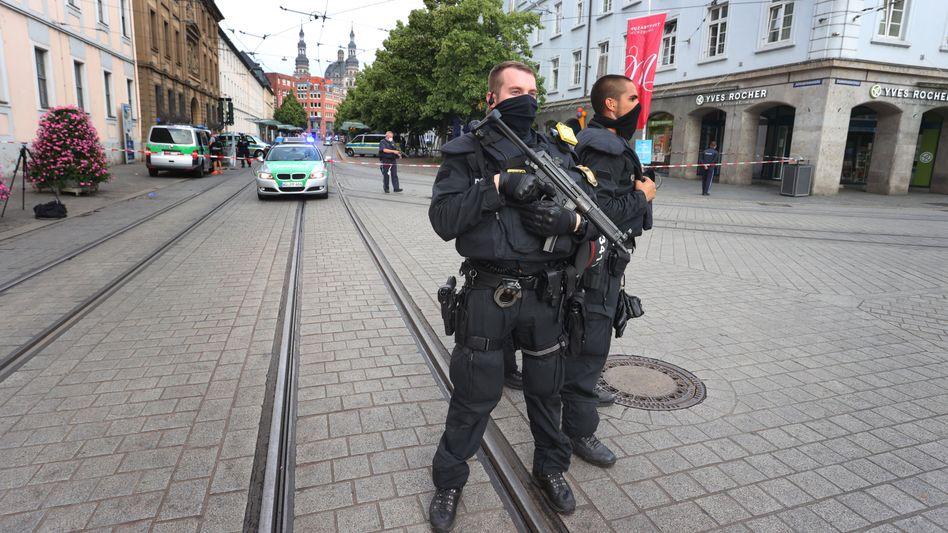 Polizeieinsatz in Würzburg am Wochenende