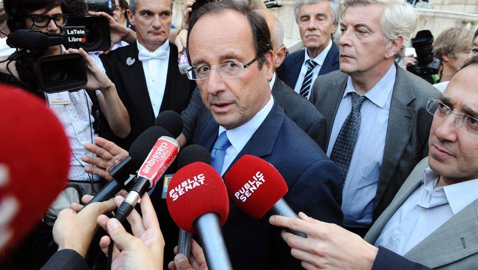"""Sozialistischer Spitzenpolitiker Hollande: """"Sarkozy weiß, dass er am Ende ist"""""""