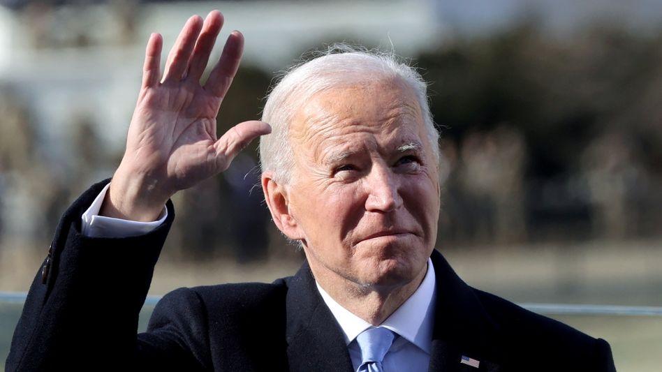 Der 46. Präsident der Vereinigten Staaten: Joe Biden