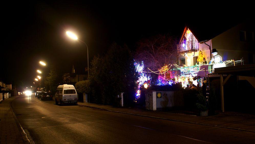 Fotostrecke: Das Weihnachtshaus in Olching