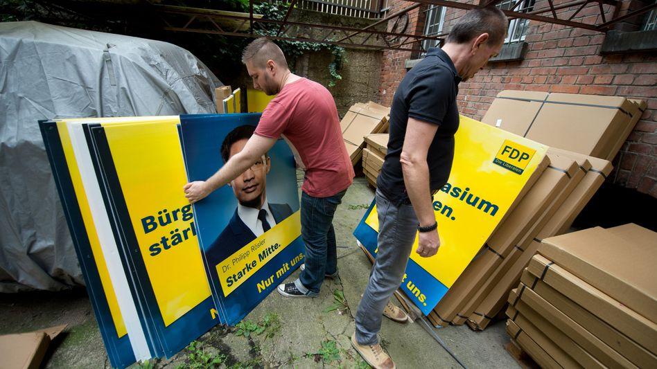FDP-Wahlplakate: Ängste schüren, für die es keinen Grund gibt