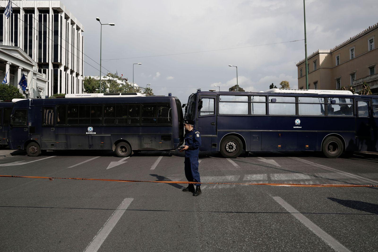 EINMALIGE VERWENDUNG Griechenland / Sperre