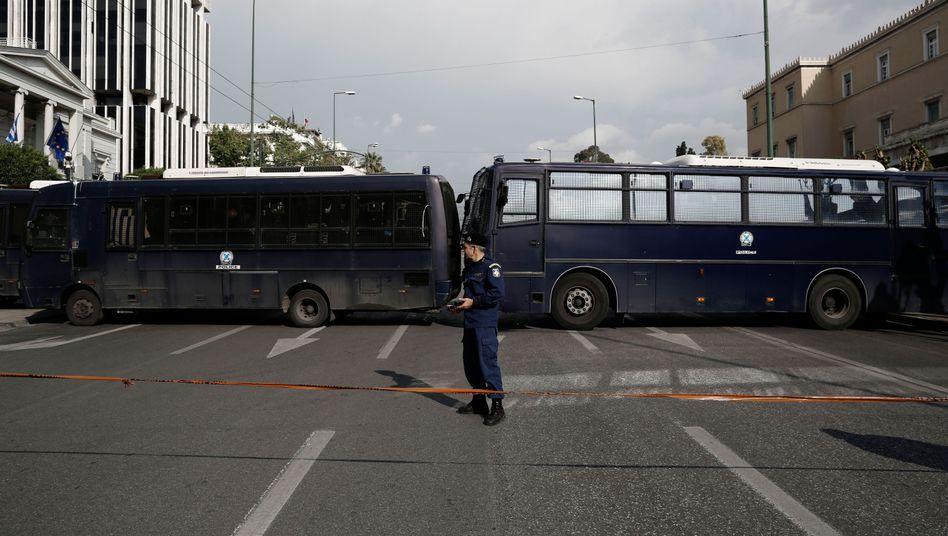 Gesperrtes Regierungsviertel: Demos außerhalb des Sperrgebiets erwartet