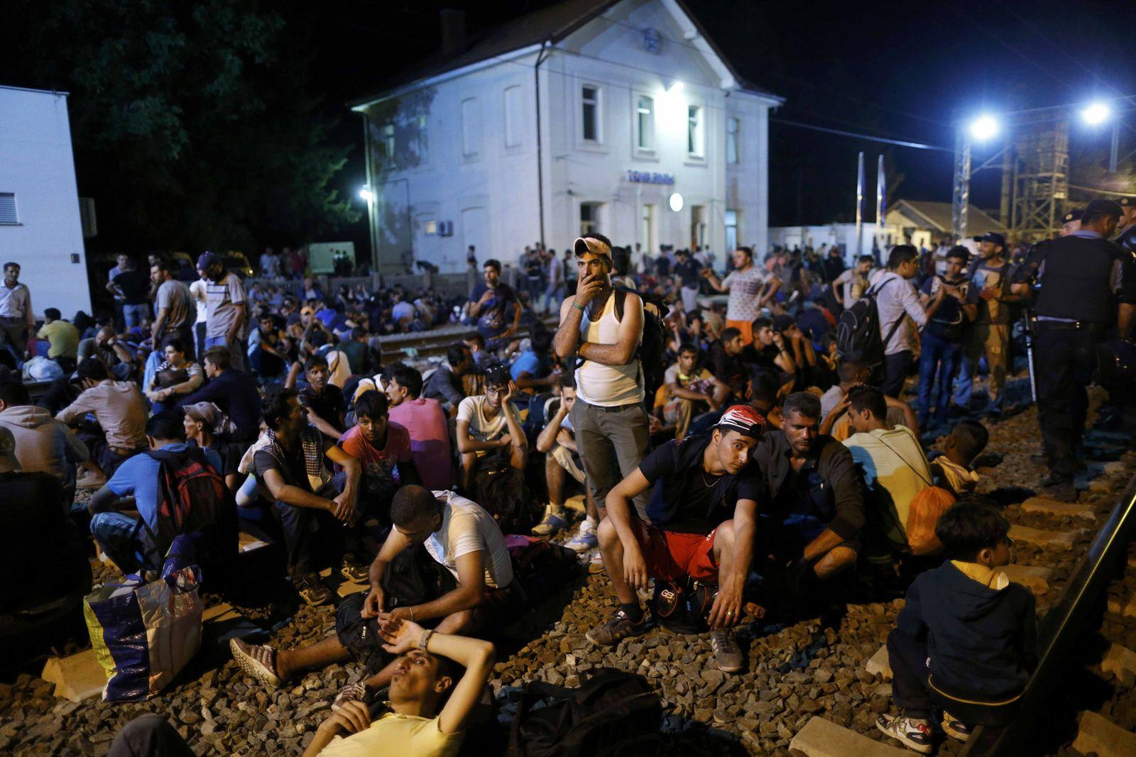 flüchtlinge kroatien tovarnik