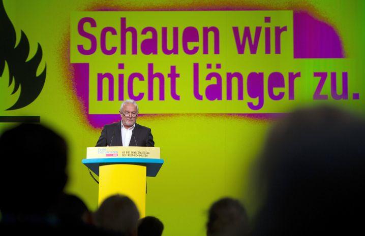 Kubicki im April auf dem FDP-Bundesparteitag in Berlin