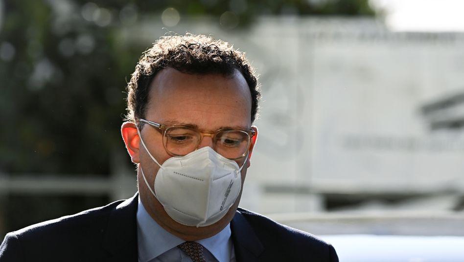 Bundesgesundheitsminister Jens Spahn: »Wir wissen vor allem, wo es die Hauptansteckungspunkte gibt«