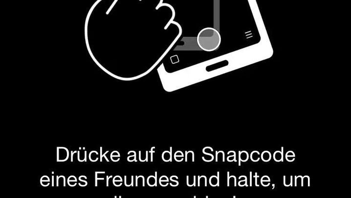 Anleitung in Bildern: So funktioniert Snapchat