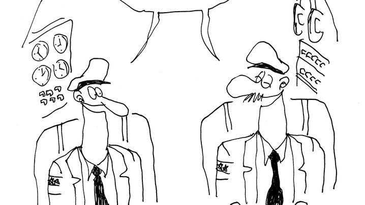 Flugreise-Cartoons: Humor ist, wenn man trotzdem fliegt