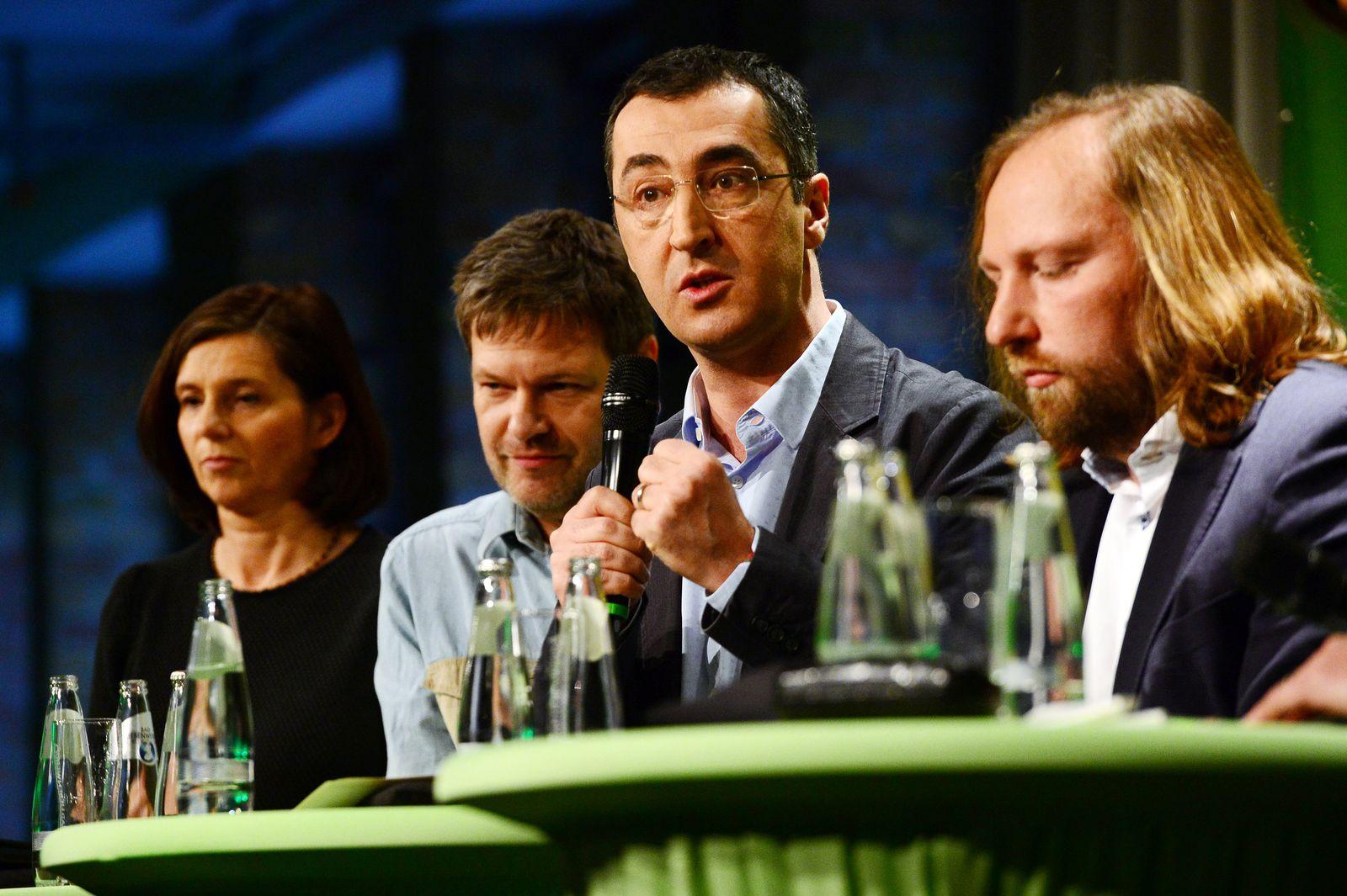 Schaulaufen für die Urwahl der grünen Spitzenkandidaten