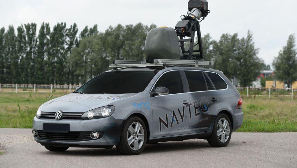 Navteq-Spezialfahrzeug: Microsoft baut an seinem Street-View-Klon