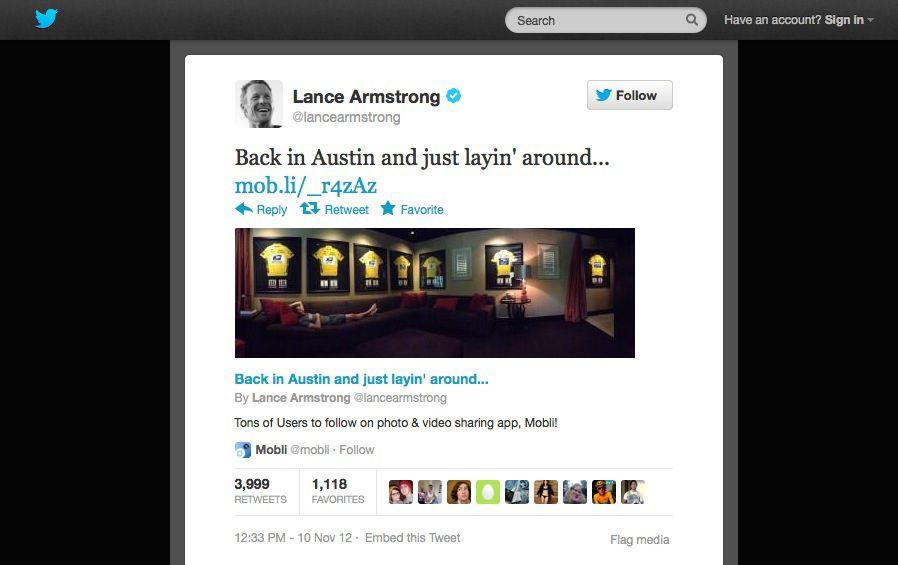 EINMALIGE VERWENDUNG NUR ALS ZITAT Screenshot / Armstrong