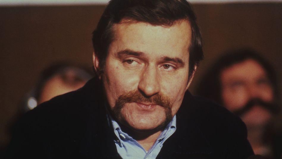 """Walesa 1981: """"Es können keine von mir stammenden Dokumente vorliegen"""""""