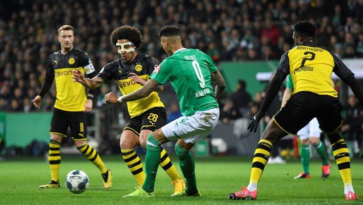 Überraschung im DFB-Pokal: Werder schlägt Dortmund