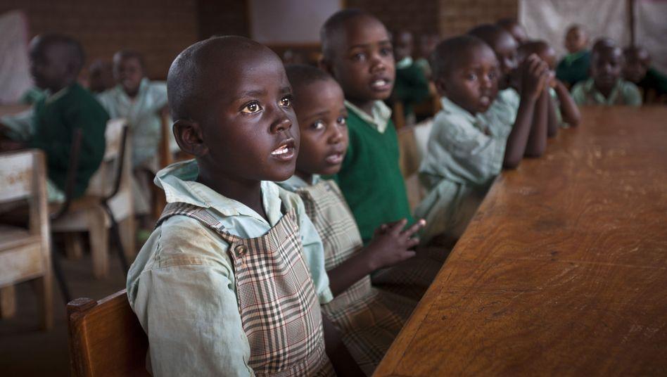 Grundschule in Kenia für Waisen, deren Eltern an Aids starben (Archivfoto)