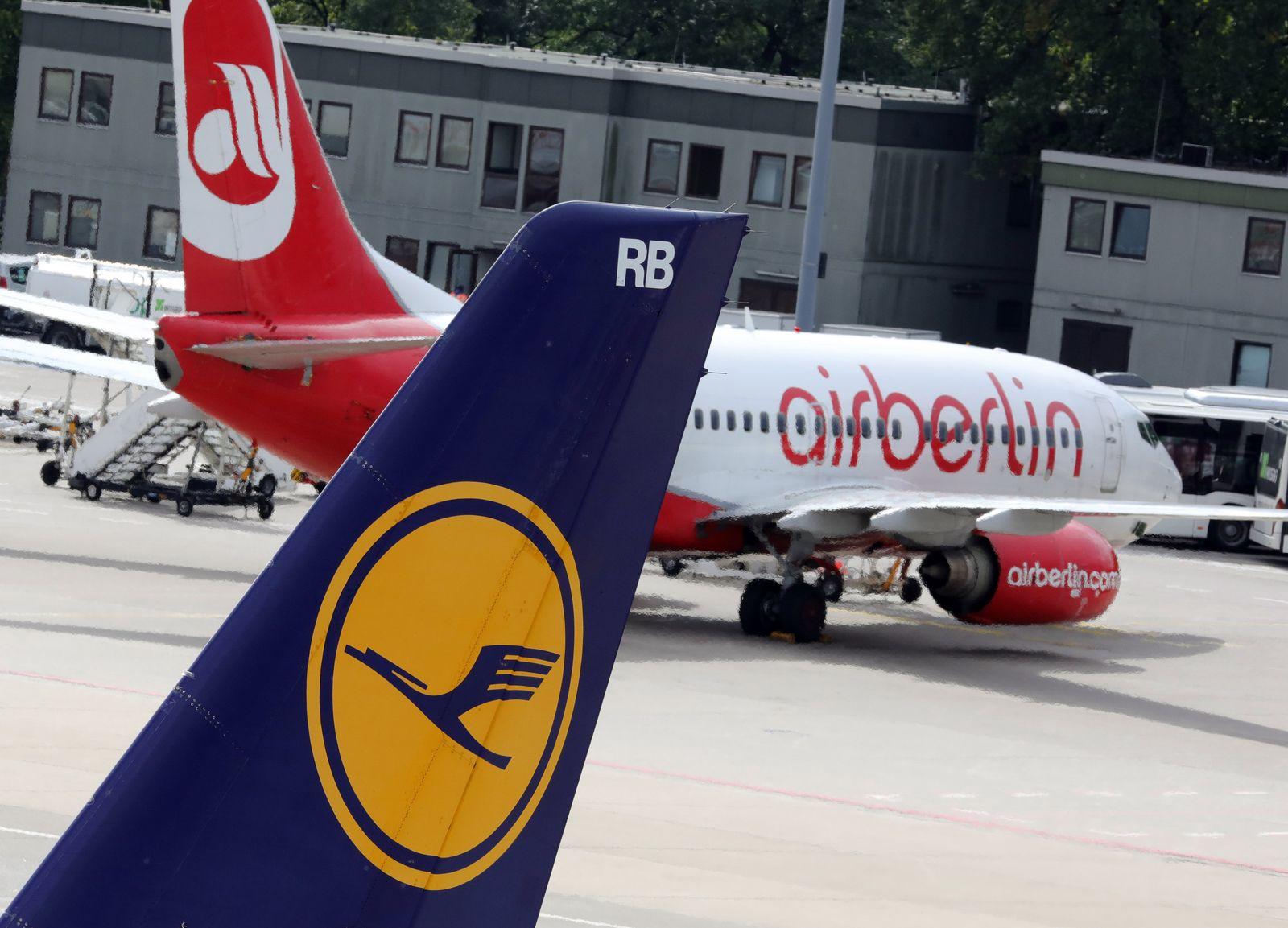 Air Berlin Lufthansa