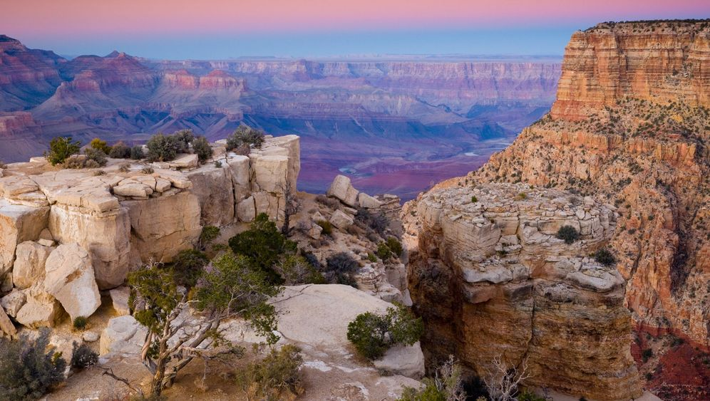 Gewitter im Grand Canyon: Potzblitz