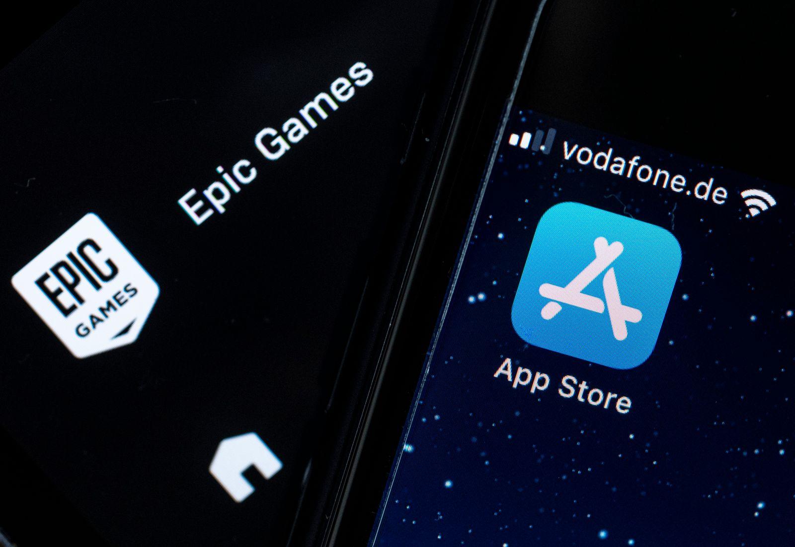 Prozessauftakt Streit zwischen Epic und Apple