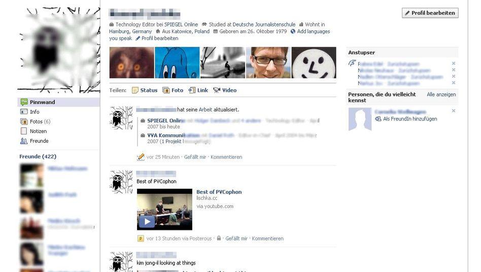 Facebook-Neugestaltung: Größere Fotos, neue Kategorien, mehr Informationen