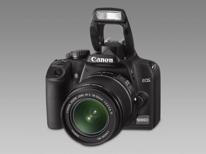 Canon EOS 1000D: Die Einsteiger-SLR ist Bestandteil vieler Angebots-Bündel